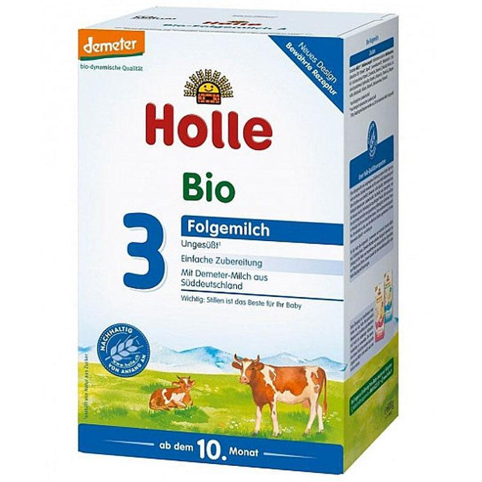 HOLLE Organic Stage 3 (600g) Organic Formula hippholle.com