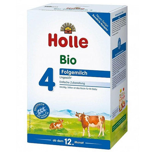 HOLLE Organic Stage 4 (600g) 4 Pack Organic Formula hippholle.com