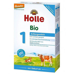 HOLLE Stage 1 (400g) 4 Pack Organic Formula hippholle.com