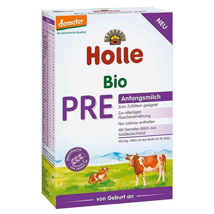 HOLLE Stage PRE (400g) 8 Pack Organic Formula hippholle.com