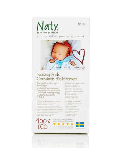 Naty Biodegradable Nursing Pads Mommy Care hippholle.com