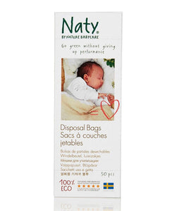 Naty Disposal Biodegradable Bags Diapers and Wipes hippholle.com