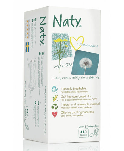 Naty Panty Liners - Normal Mommy Care hippholle.com