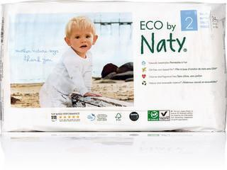 Naty Size 2 Biodegradable ECO Diapers Diapers and Wipes hippholle.com