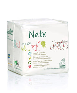 Naty Thin Sanitary Pads- Normal Mommy Care hippholle.com