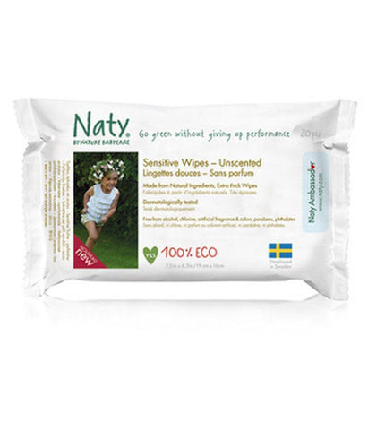 Naty Travel Pack Wipes- Unscented Diapers and Wipes hippholle.com