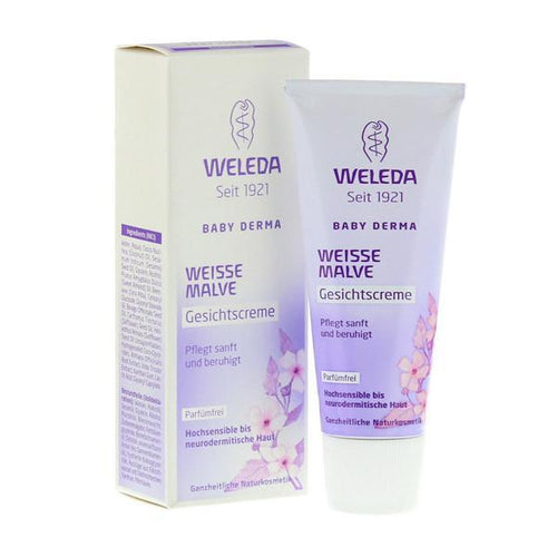 Weleda organic White Mallow Face Cream Creams, Oils & Lotions hippholle.com