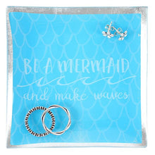 Be a mermaid and make waves mermaid scales jewellery/trinket dish.