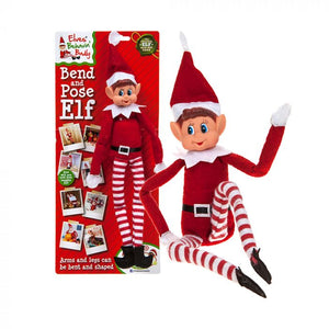 "Elves Behaving Badly fully posable/bendy 12"" elf on the shelf elf toy."