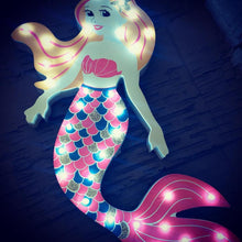 Mermaid Shape Novelty LED Light Decoration