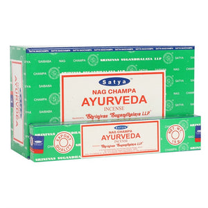 Satya Sai Baba Ayurveda incense 15g pack with approx. 12 sticks