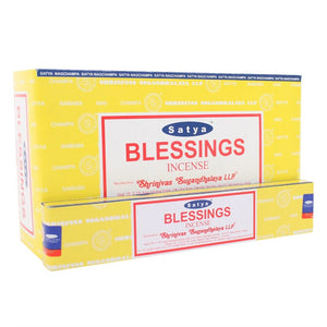 Satya Sai Baba Blessings incense 15g pack with approx. 12 sticks