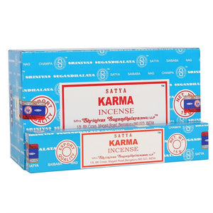 Satya Sai Baba Karma incense 15g pack with approx. 12 sticks