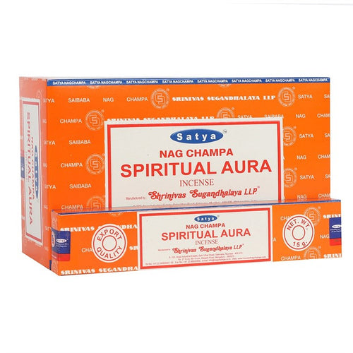 Satya Sai Baba Spiritual Aura incense 15g pack with approx. 12 sticks
