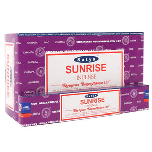 Satya Sai Baba Sunrise incense 15g pack with approx. 12 sticks