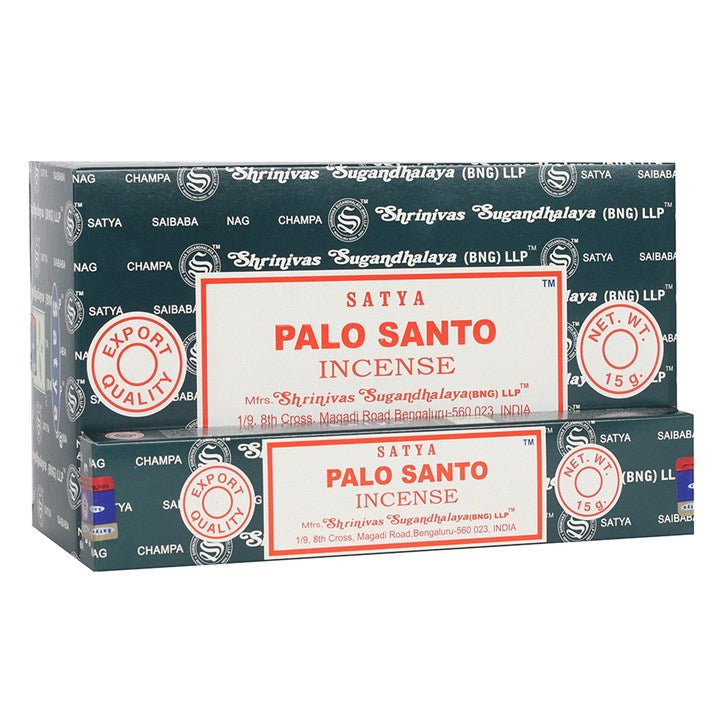 Satya Sai Baba Palo Santo (Holy Wood) incense 15g pack with approx. 12 sticks