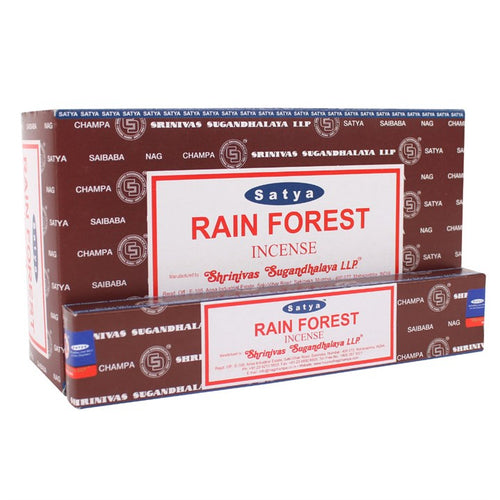 Satya Sai Baba Rain Forest incense 15g pack with approx. 12 sticks