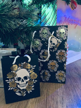 Rockstar Dad Package: Keyring Air Freshener & Skull Gift Bag