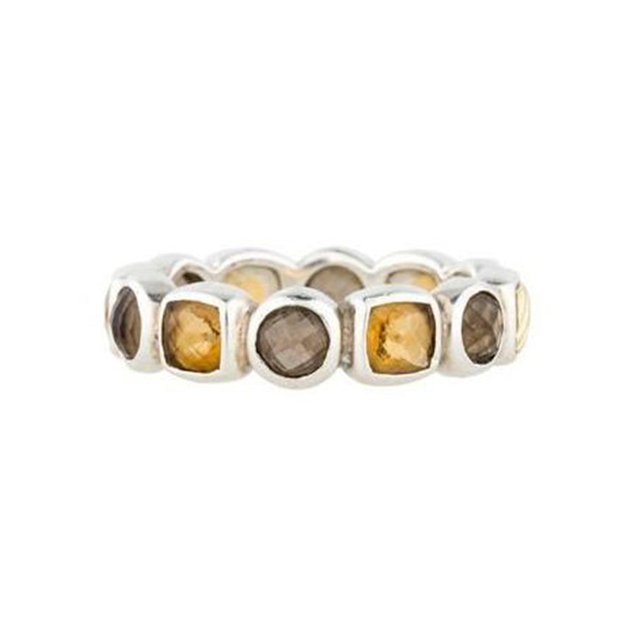 David Yurman Chiclet Eternity Band