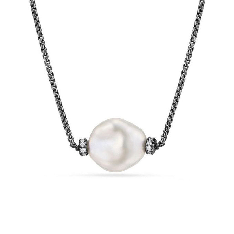 David Yurman Oceanica Pearl Pendant Necklace