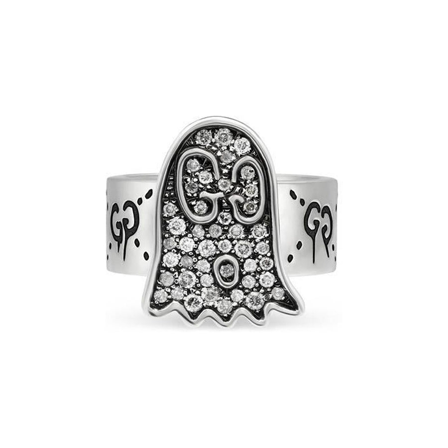 Gucci Diamond Ghost Ring