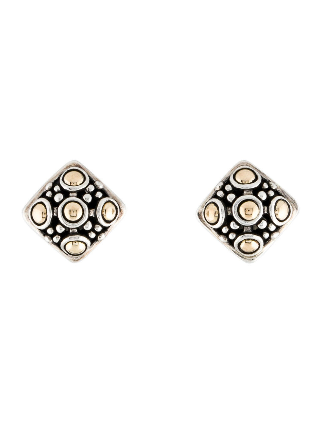 John Hardy Jaisalmer Dot Stud Earrings