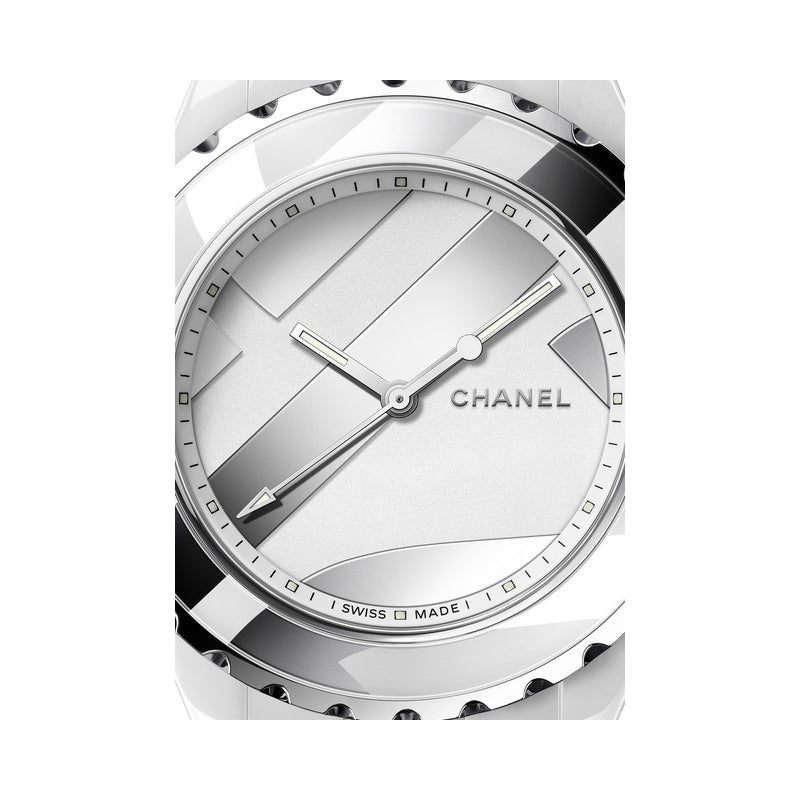 Chanel J12 White Dial UNTITLED Limited Edition Watch