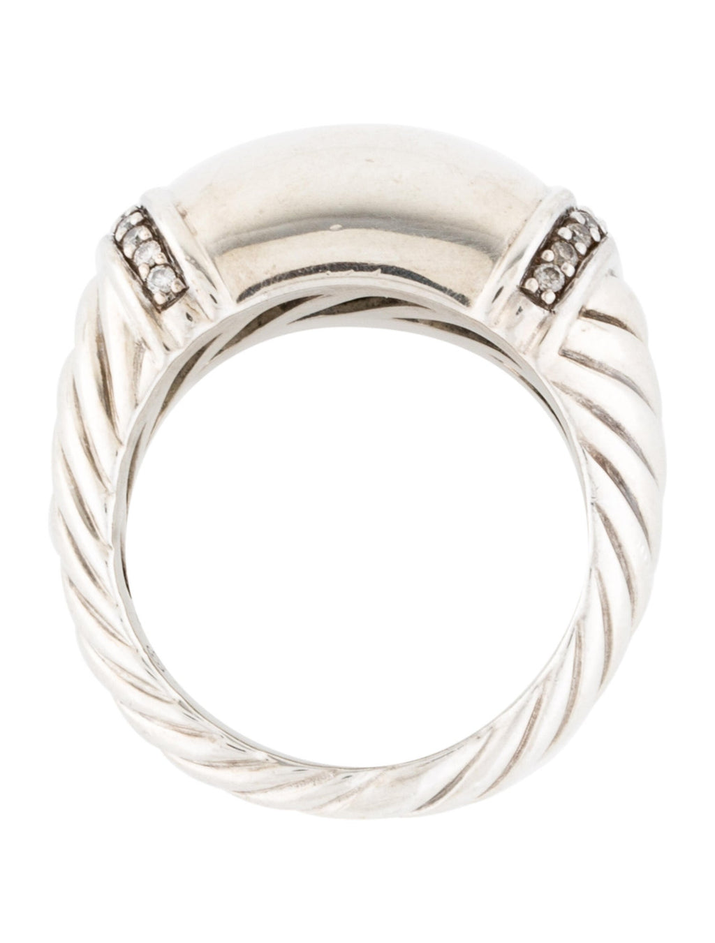David Yurman Diamond Metro Cable Band