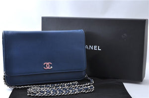 Chanel Lucky Clover Wallet On Chain Bag