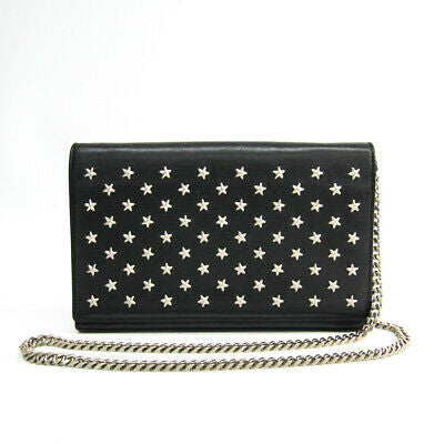 Saint Laurent Star Studded Clutch Bag (with chain)