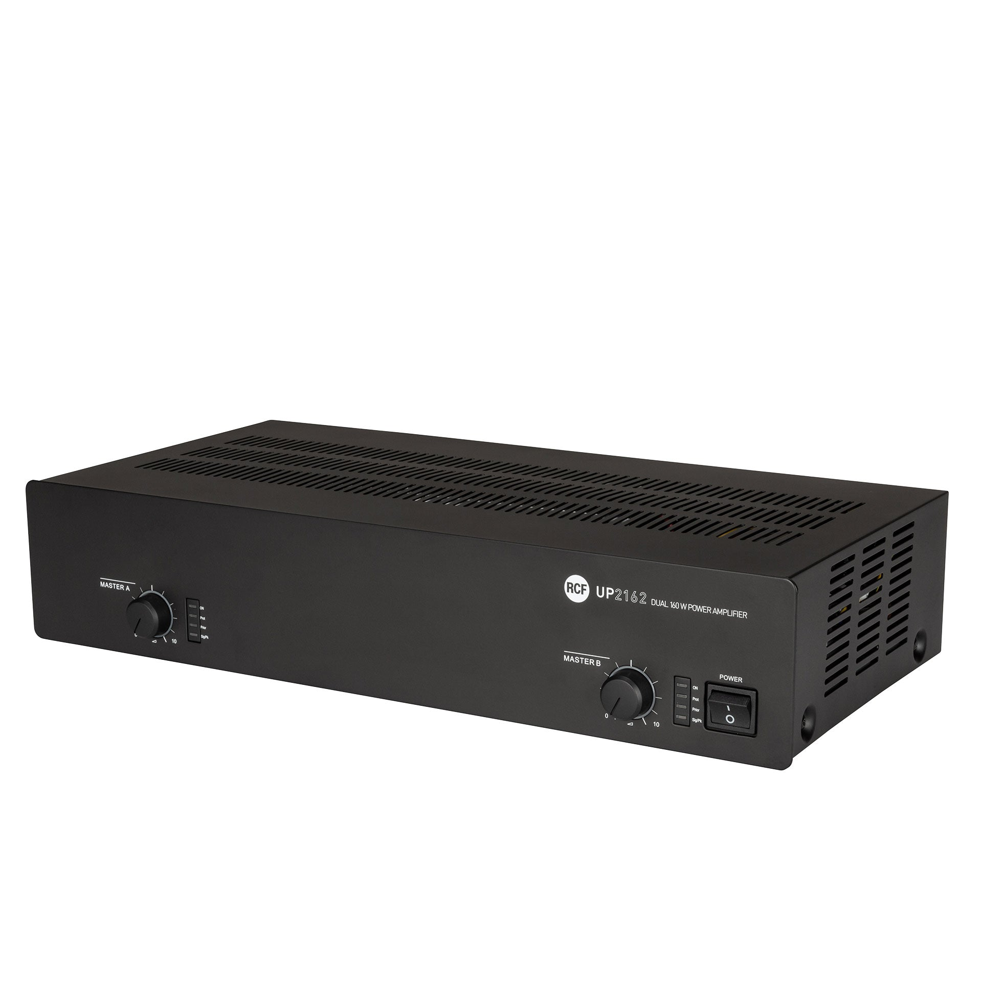 RCF UP-2162 | 2 Channel Amplifier (70V/ 4 ohm/ Aux Input)