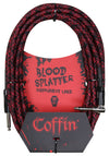 Coffin CF-ICBS20R | Bloodsplatter Instrument Cable 20ft. Right Angle