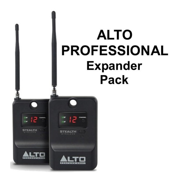 ALTO STEALTH WIRELESS EXPANDER PACK 2 Additional Stealth Wireless Receivers