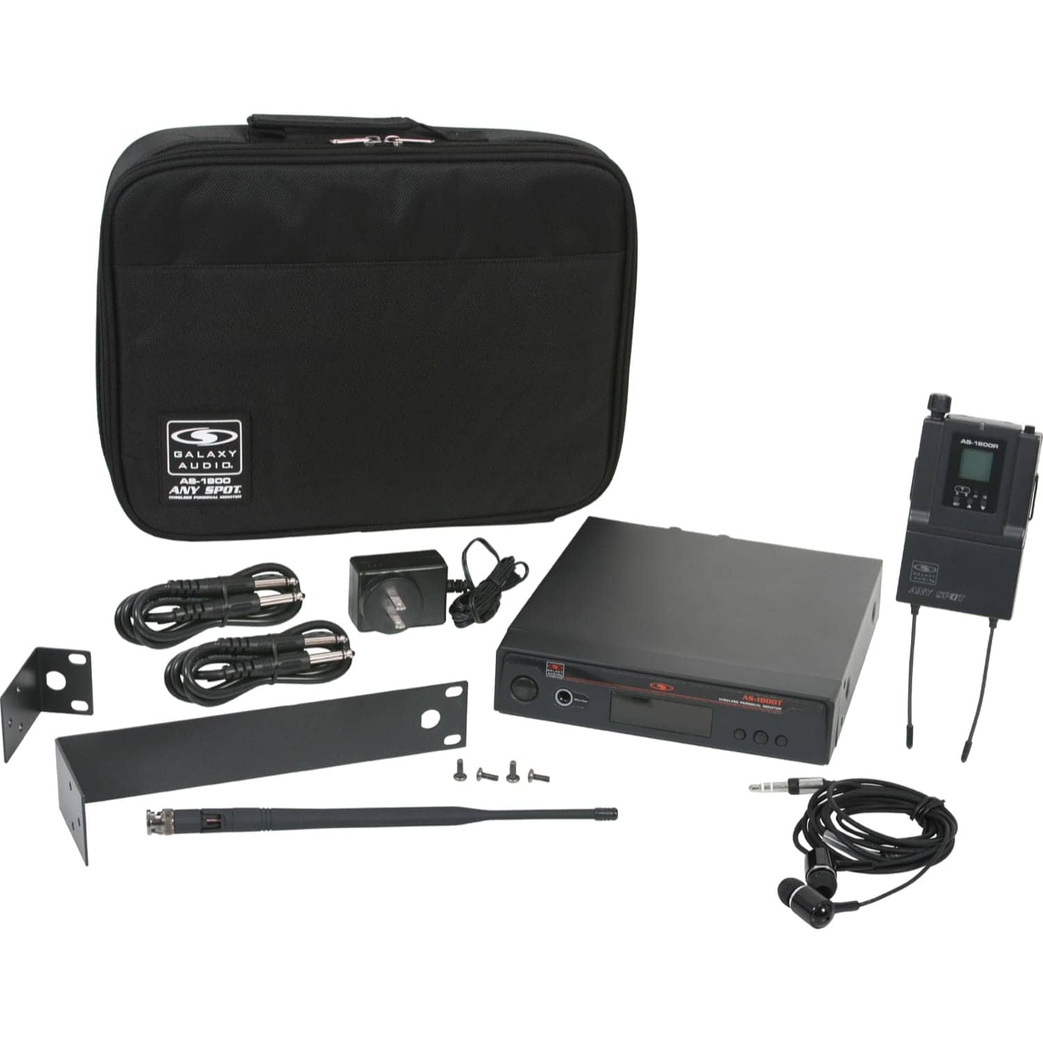 Galaxy Audio AS-1800B3 Wireless Personal Monitor System (554-570 MHz)