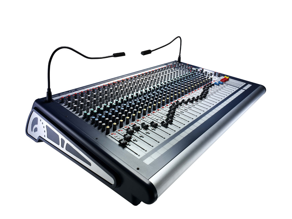 Soundcraft GB2 | 32 Mono Channel Live Sound/Recording Console w/ 2 Stereo Ch and 2 Stereo Grp Output