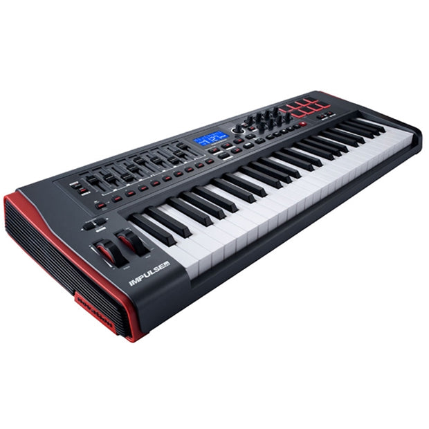 Novation Impulse 49 | Ultra-Responsive & Expressive Keyboard w/ Loads of Fully Assignable Controls