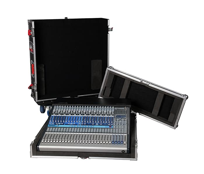 Gator Cases Tour Series G-TOUR PRE242-DH Mixer Case with Dog House for The PreSonus Studio Live 24