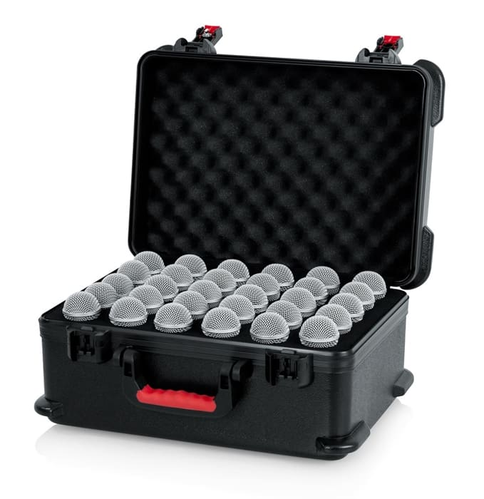 Gator Cases GTSA-MIC30 Microphone Case for 30 Handheld Microphones (Wired)
