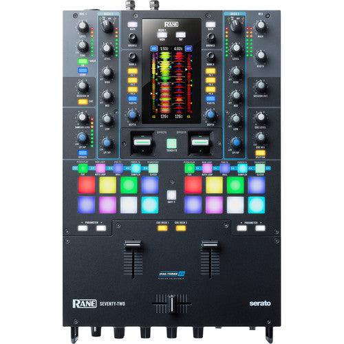 RANE DJ Seventy-Two 2-Channel Performance Mixer with Touchscreen for Serato DJ Pro