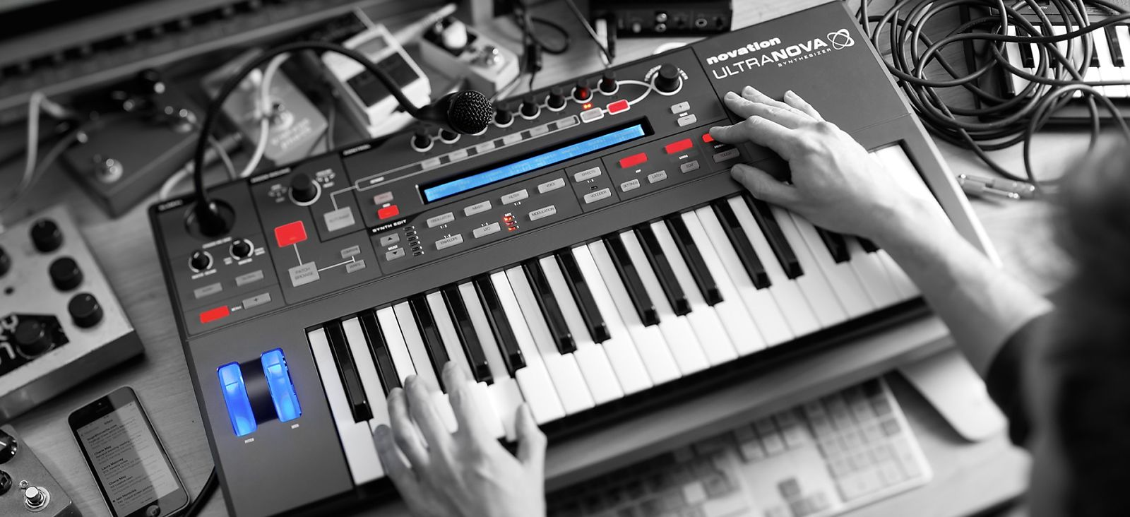 Novation UltraNova | Most Advanced, Configurable & Controllable Synthesizer