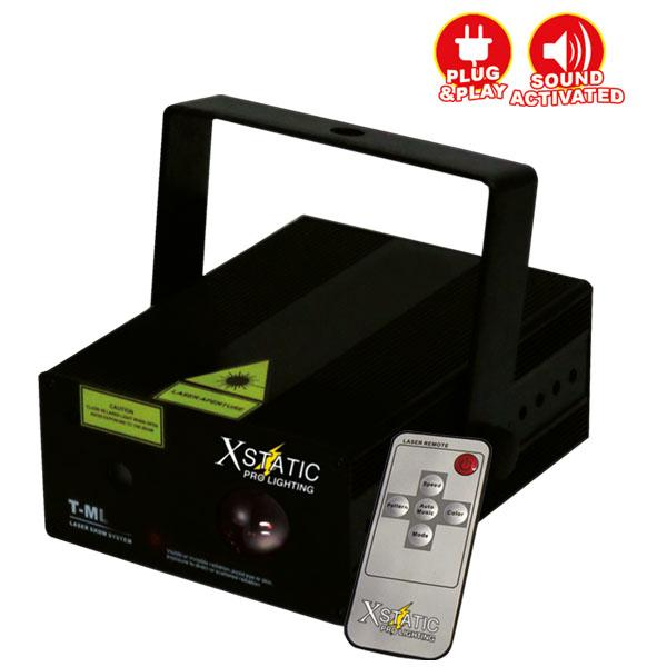 ProX Xstatic Pro Lighting Zeus T-ML200 Red & Green Dual Color Animation Laser