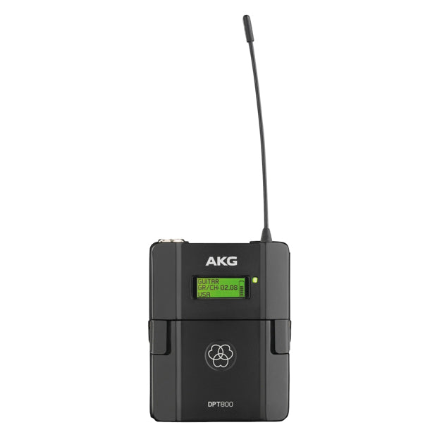 AKG DPT800 Band1 50mW Reference Digital Wireless Body Pack Transmitter