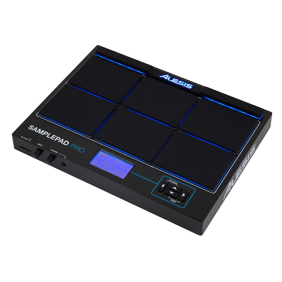 Load Your Own Alesis SamplePad Multi-Pad Percussion Instrument Built-in Drums