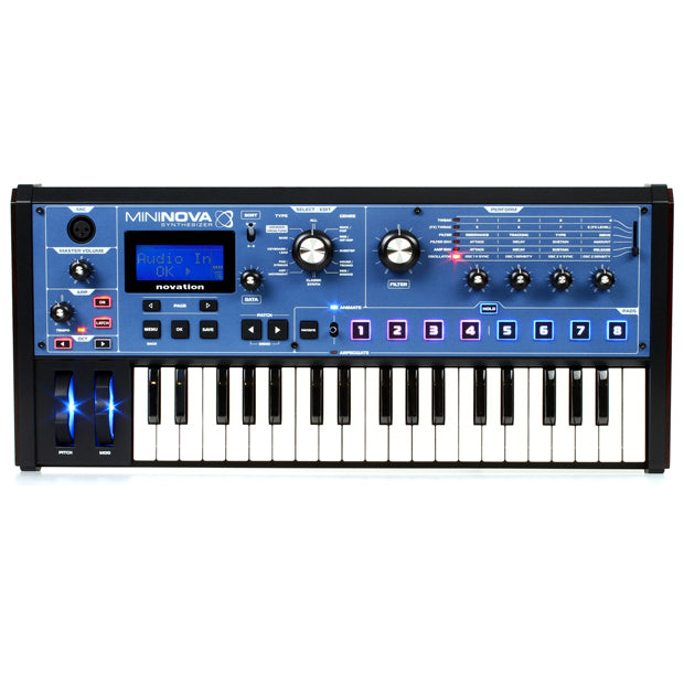 Novation MiniNova | Micro Synthesizer with Powerful Sound Engine & Effects