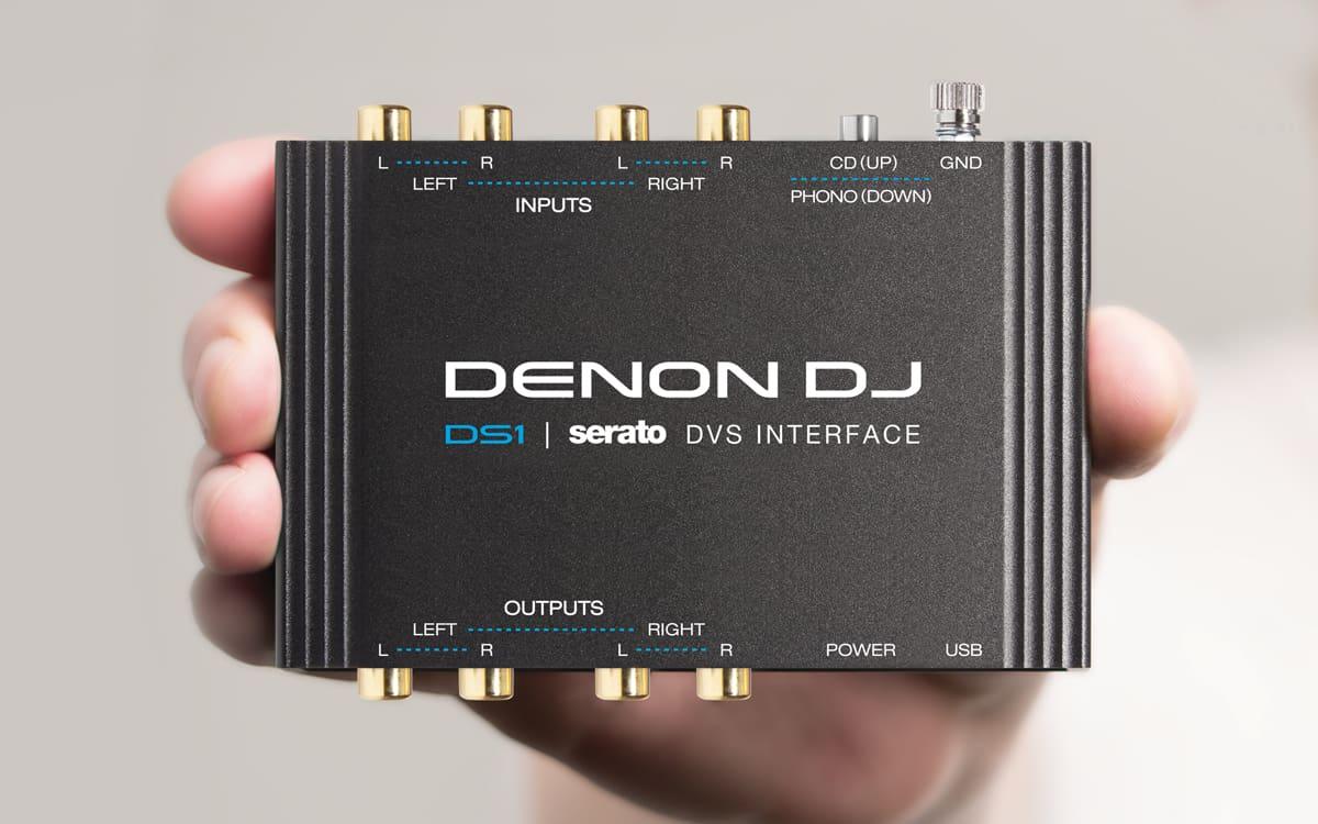 Denon DJ DS1 Professional 2-Channel Serato DJ DVS Interface