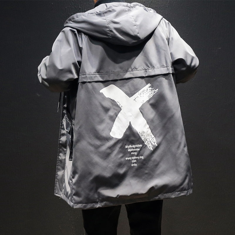 Cross Out Windbreaker
