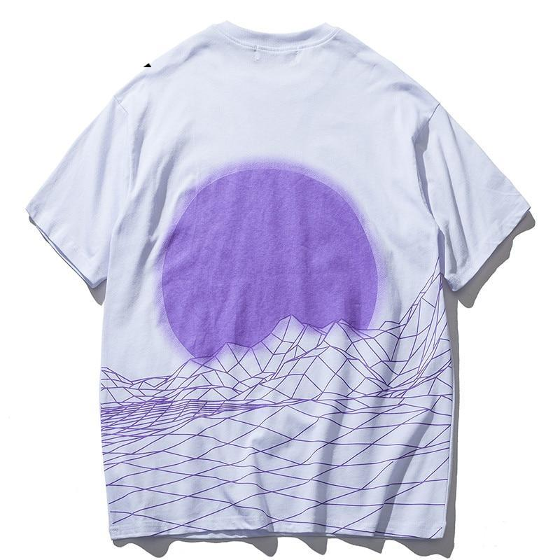 Digital Moon Tee