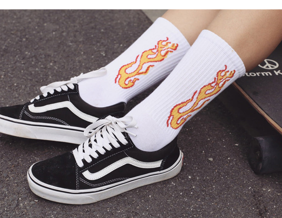 Flame Socks