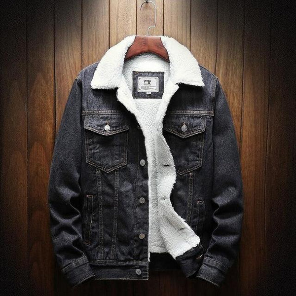 Onyx Denim Jacket