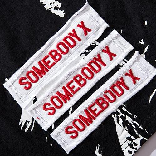 Somebody Hooded Tee